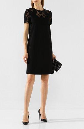 Женское платье ESCADA SPORT черного цвета, арт. 5031405 | Фото 2