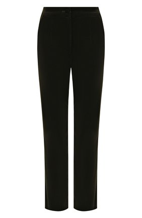 Женские хлопковые брюки DOLCE & GABBANA хаки цвета, арт. FTAM2T/FUWB3 | Фото 1