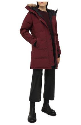 Женский пуховик shelburne CANADA GOOSE бордового цвета, арт. 3802L | Фото 2