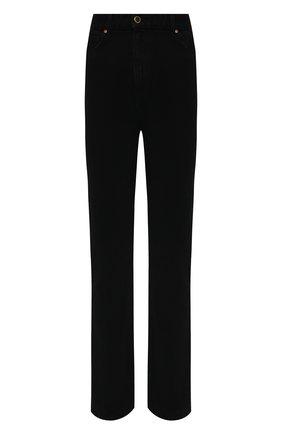 Женские джинсы KHAITE черного цвета, арт. 1032-044/DANIELLE | Фото 1 (Статус проверки: Проверено, Проверена категория; Материал внешний: Хлопок; Кросс-КТ: Деним; Стили: Кэжуэл)