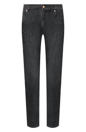 Мужские джинсы BILLIONAIRE черного цвета, арт. MDT1712 | Фото 1