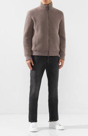 Мужские джинсы BILLIONAIRE черного цвета, арт. MDT1712 | Фото 2