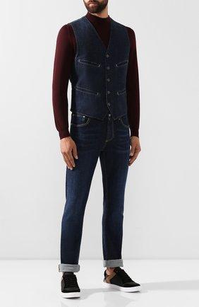 Мужской джинсовый жилет RRL синего цвета, арт. 782751090 | Фото 2