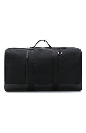Мужская текстильная дорожная сумка BERLUTI черного цвета, арт. M183357 | Фото 1