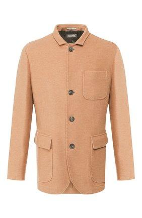Мужская кашемировая куртка BRUNELLO CUCINELLI бежевого цвета, арт. MT4976270   Фото 1