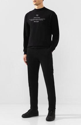Мужские текстильные кеды PREMIATA черного цвета, арт. 31185/TWEED/M0NT0NE | Фото 2
