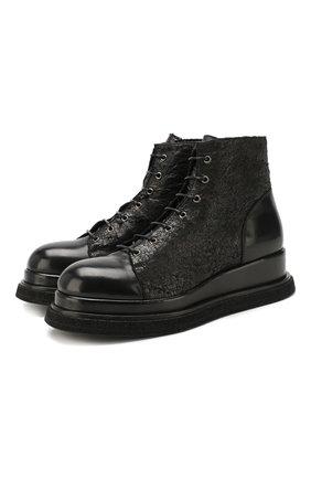 Мужские кожаные ботинки PREMIATA черного цвета, арт. 31531/LUX/GENIUS | Фото 1