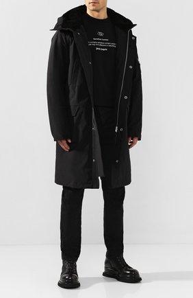 Мужские кожаные ботинки PREMIATA черного цвета, арт. 31531/LUX/GENIUS | Фото 2