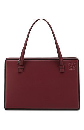 Женская сумка postal LOEWE бордового цвета, арт. 309.56.W84   Фото 1