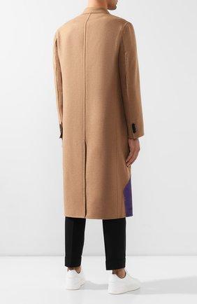 Мужской шерстяное пальто valentino x undercover VALENTINO бежевого цвета, арт. SV0CAA855PU | Фото 4