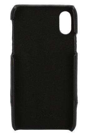 Мужской чехол для iphone x/xs VALENTINO черного цвета, арт. SW2P0S58/KZQ | Фото 2