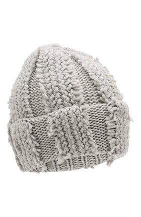 Женский кашемировая шапка INVERNI серого цвета, арт. 4627CM | Фото 1