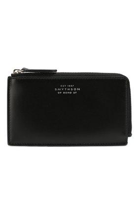 Женский кожаный футляр для кредитных карт SMYTHSON черного цвета, арт. 1023054 | Фото 1