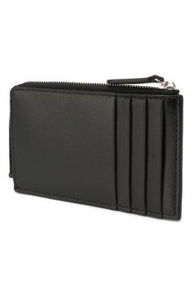 Женский кожаный футляр для кредитных карт SMYTHSON черного цвета, арт. 1023054 | Фото 2