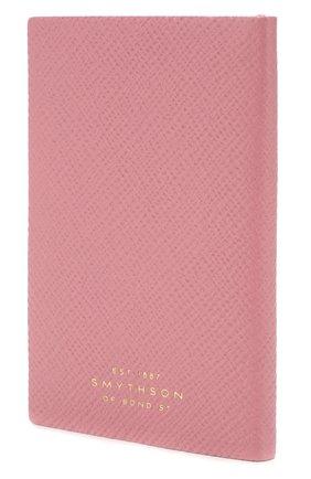 Мужской записная книжка в кожаной обложке SMYTHSON розового цвета, арт. 1023838 | Фото 2