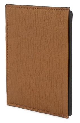 Женский кожаный футляр для кредитных карт SMYTHSON коричневого цвета, арт. 1024170   Фото 2