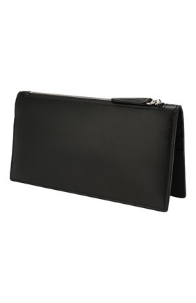 Женские кожаный кошелек SMYTHSON черного цвета, арт. 1025085   Фото 2