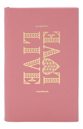 Мужской записная книжка в кожаной обложке SMYTHSON розового цвета, арт. 1025323 | Фото 1