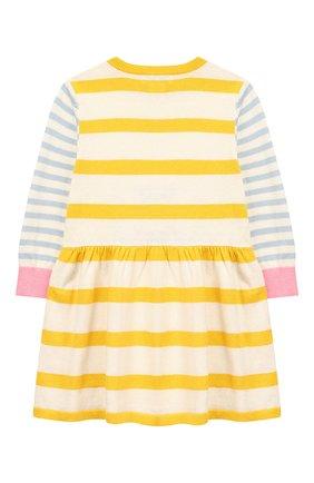 Женский платье из хлопка и шерсти STELLA MCCARTNEY разноцветного цвета, арт. 571971/SNM21   Фото 2