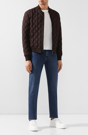 Мужские джинсы ERMENEGILDO ZEGNA синего цвета, арт. UTI78/JS01 | Фото 2