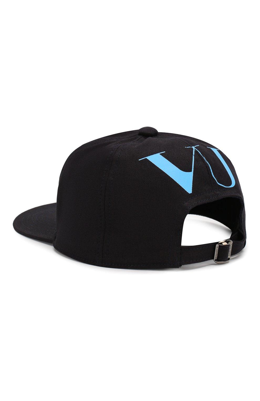 Мужской хлопковая бейсболка valentino x undercover VALENTINO черного цвета, арт. SY0HDA10/SBP | Фото 2