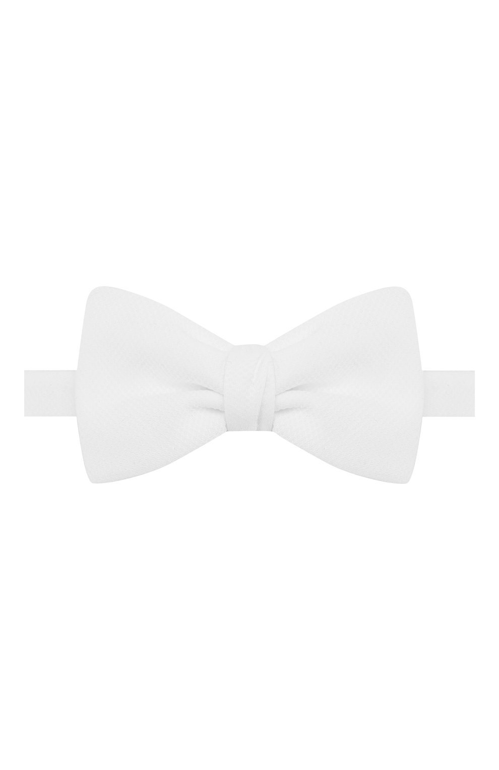 Мужской хлопковый галстук-бабочка BRIONI белого цвета, арт. 01T200/PZ060 | Фото 1