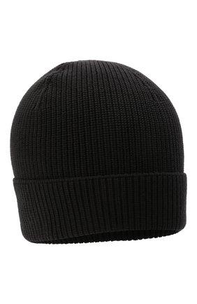 Мужская шерстяная шапка GRAN SASSO темно-серого цвета, арт. 23129/24604   Фото 1