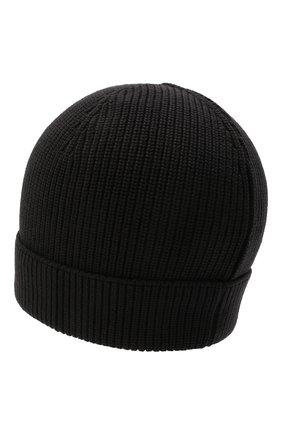 Мужская шерстяная шапка GRAN SASSO темно-серого цвета, арт. 23129/24604   Фото 2