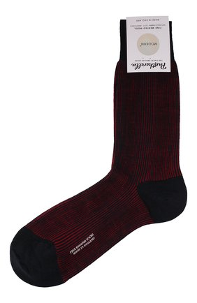 Мужские шерстяные носки PANTHERELLA бордового цвета, арт. 893072 | Фото 1