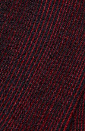 Мужские шерстяные носки PANTHERELLA бордового цвета, арт. 893072 | Фото 2