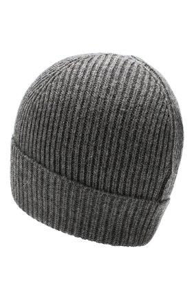 Мужская шапка POLO RALPH LAUREN серого цвета, арт. 449775528 | Фото 2