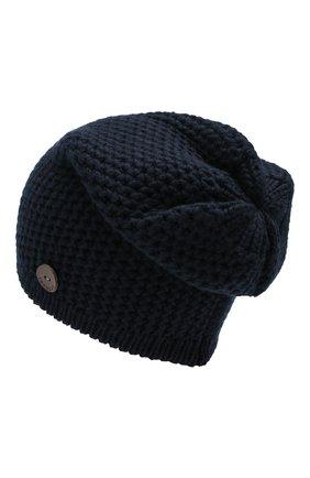 Мужская кашемировая шапка INVERNI темно-синего цвета, арт. 0097CMGD | Фото 2