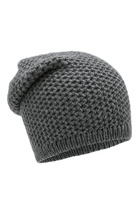 Мужская кашемировая шапка INVERNI серого цвета, арт. 0097CMGD | Фото 1