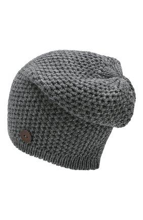 Мужская кашемировая шапка INVERNI серого цвета, арт. 0097CMGD | Фото 2