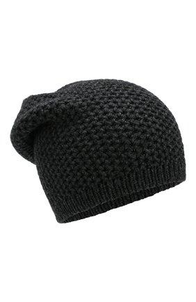 Мужская кашемировая шапка INVERNI темно-серого цвета, арт. 0097CMGD | Фото 1