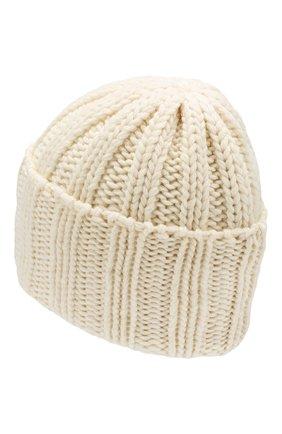 Мужская кашемировая шапка INVERNI белого цвета, арт. 2924CMC1 | Фото 2