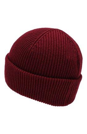 Мужская кашемировая шапка INVERNI бордового цвета, арт. 4553CM | Фото 2