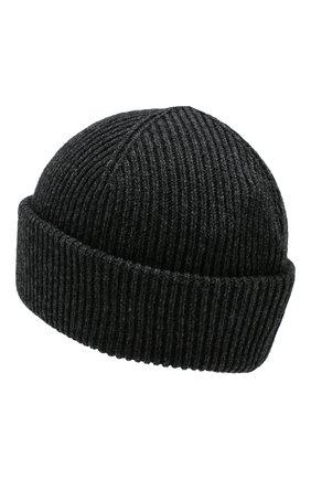 Мужская кашемировая шапка INVERNI темно-серого цвета, арт. 4553CM | Фото 2