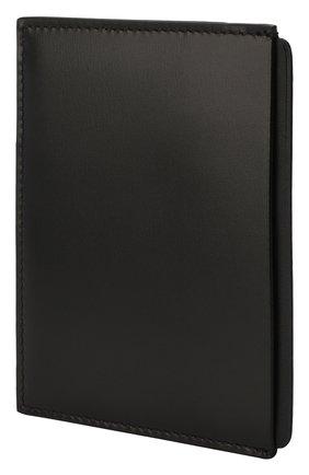 Мужской кожаный футляр для кредитных карт SMYTHSON черного цвета, арт. 1025490 | Фото 2