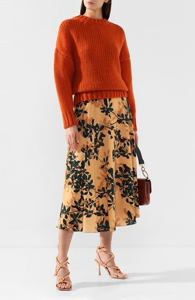 Женская шерстяной свитер DRIES VAN NOTEN красного цвета, арт. 192-11255-8719 | Фото 2