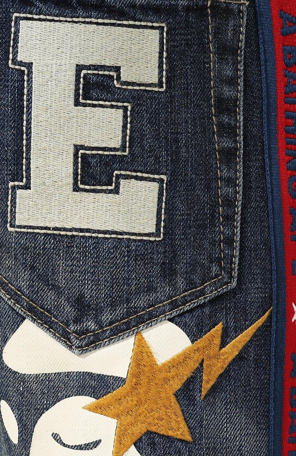 Укороченные джинсы   Фото №5