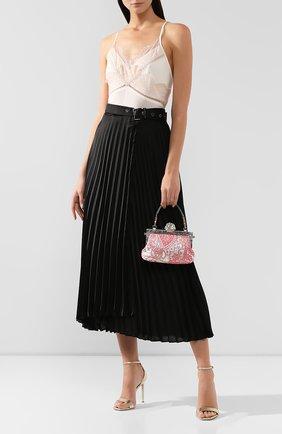 Женский сумка vanda medium DOLCE & GABBANA светло-розового цвета, арт. BB5850/AA077   Фото 2