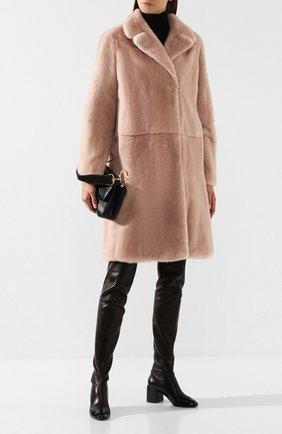 Женские кожаные ботфорты CASADEI черного цвета, арт. 1T932N0601T00569000 | Фото 2
