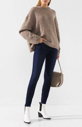 Женские джинсы PAIGE синего цвета, арт. 1563984-6443 | Фото 2