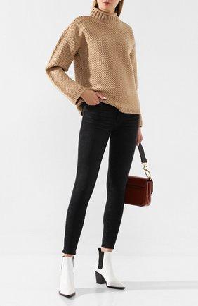 Женские джинсы PAIGE черного цвета, арт. 1767F60-6497 | Фото 2