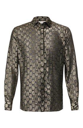 Рубашка из смеси вискозы и шелка | Фото №1