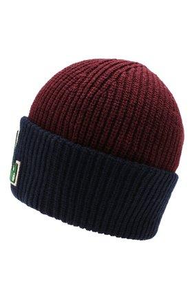 Детского шапка POLO RALPH LAUREN бордового цвета, арт. 323751593 | Фото 2