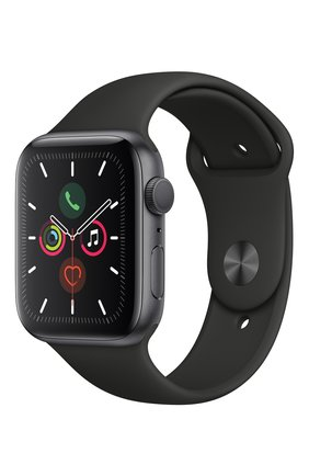 Смарт-часы Apple Watch Series 5 (GPS) 44mm Space Gray Aluminium Case with Black Sport Band | Фото №2