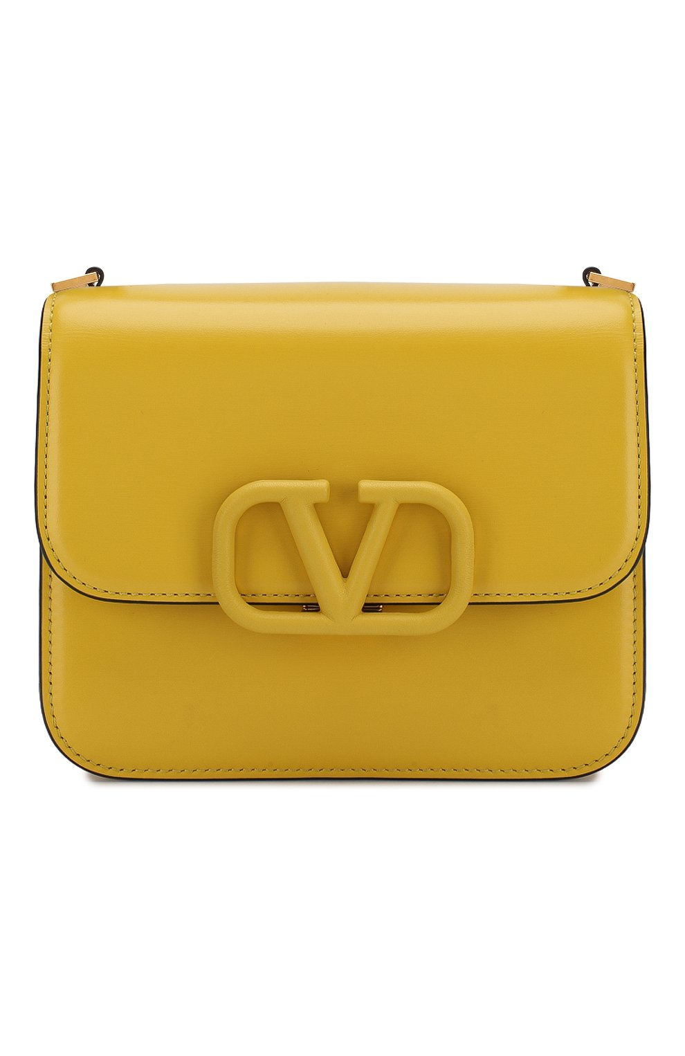 Женская сумка valentino garavani vsling small VALENTINO желтого цвета, арт. SW0B0F01/HFB | Фото 1