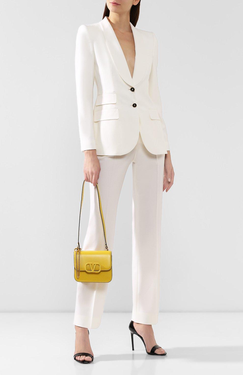 Женская сумка valentino garavani vsling small VALENTINO желтого цвета, арт. SW0B0F01/HFB | Фото 2